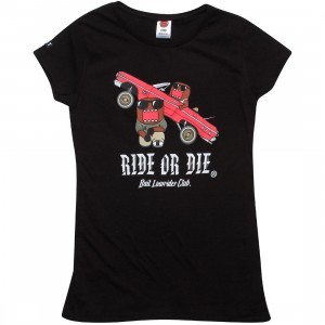 BAIT x Domo Women Low Rider Tee (black)