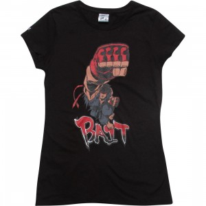 BAIT x Street Fighter Women Evil Ryu Shoryuken Tee - Tracy Tubera (black)