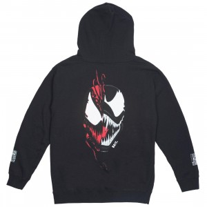 BAIT x Marvel Men Venom vs Carnage Face Off Hoody (black)