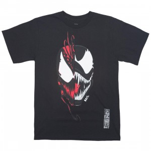 BAIT x Marvel Men Venom vs Carnage Face Off Tee (black)
