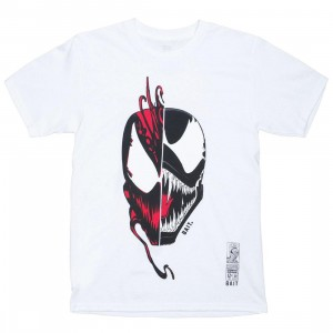 BAIT x Marvel Men Venom vs Carnage Face Off Tee (white)