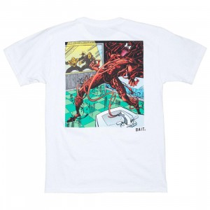 BAIT x Marvel Men Carnage Logo Tee (white)