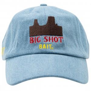 BAIT x Cowboy Bebop Big Shot Denim Strapback Denim Cap (blue)