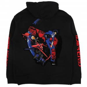 BAIT x Cowboy Bebop Men Space Cowboy Hoody (black)
