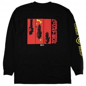 BAIT x Cowboy Bebop Men Gun Long Sleeve Tee (black)