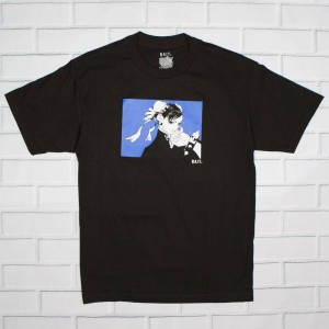 BAIT x Street Fighter Men Chun Li Stamp Tee (black)