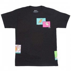 BAIT x Heathcliff Men Comic Strip Tee (black)