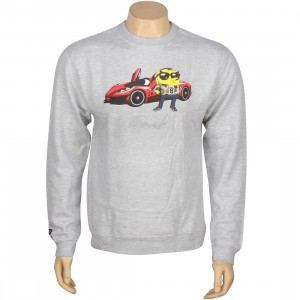 BAIT x SpongeBob SpongeBob SquarePants Crewneck (grey heather)
