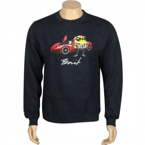 BAIT x SpongeBob SpongeBob SquarePants Crewneck (navy / heather)