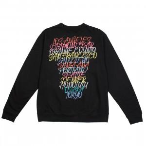 BAIT Men BAIT Doors Crewneck Sweater (black)