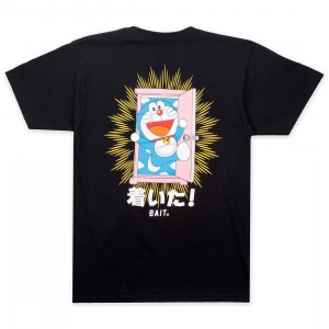 BAIT x Doraemon Men Anywhere Door Tee (black)