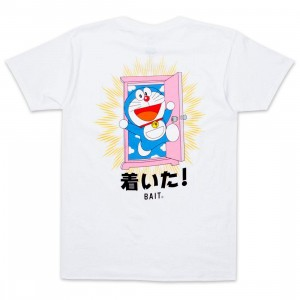 BAIT x Doraemon Men Anywhere Door Tee (white)