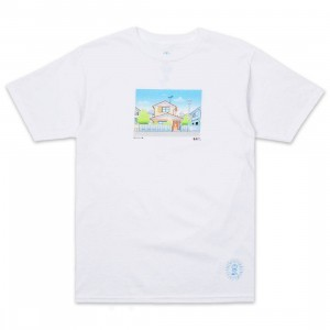 BAIT x Doraemon Men Home Design Tee (white)