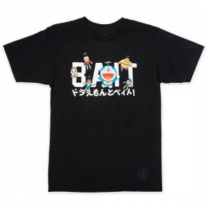 BAIT x Doraemon Men Logo Tee (black)