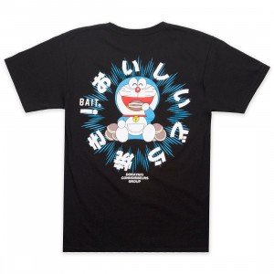 BAIT x Doraemon Men Dorayaki Tee (black)