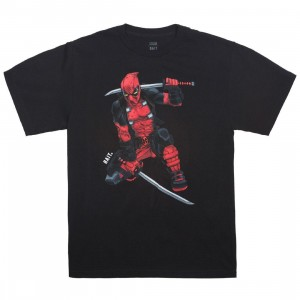 BAIT x Marvel Men Deadpool Two Swords Tee (black)