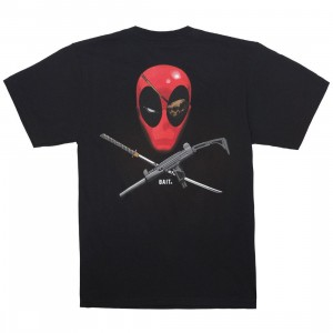 BAIT x Marvel Men Deadpool Ratatat Tee (black)