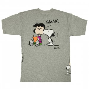 BAIT x Snoopy Men Free Smaks Tee (gray / ash)
