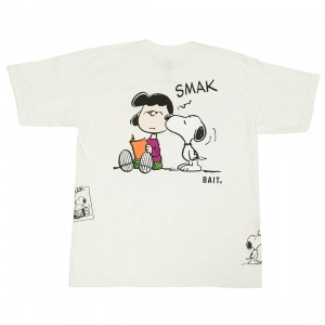 BAIT x Snoopy Men Free Smaks Tee (white)
