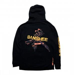 BAIT x Gundam Universe Men Banshee Hoody (black)