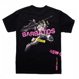 BAIT x Gundam Universe Men Barbatos Tee (black)