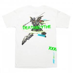 BAIT x Gundam Universe Men Deathscythe Tee (white)