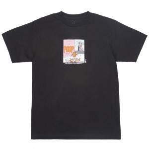BAIT x Heathcliff Men His Grafiti Is Kid Friendly Tee (black)