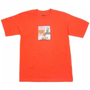 BAIT x Heathcliff Men His Grafiti Is Kid Friendly Tee (orange)