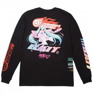 BAIT x Goodsmile Men Suzuka Racing Long Sleeve Tee (black)