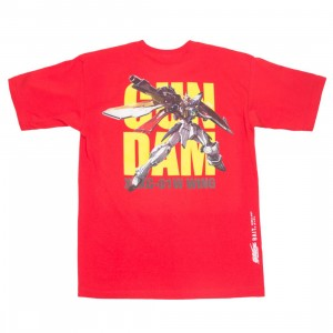 BAIT x Gundam Universe Men Wing Gundam Tee (red)
