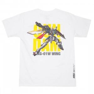 BAIT x Gundam Universe Men Wing Gundam Tee (white)