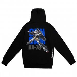 BAIT x Gundam Universe Men RX-78-2 Gundam Hoody (black)