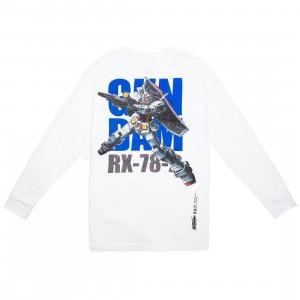 BAIT x Gundam Universe Men RX-78-2 Gundam Long Sleeve Tee (white)