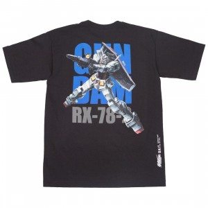 BAIT x Gundam Universe Men RX-78-2 Gundam Tee (black)