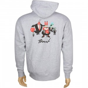BAIT x SpongeBob Mr Krabs Pullover Hoody (gray)