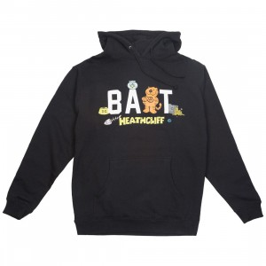BAIT x Heathcliff Men Japanese Logo Hoody (black)