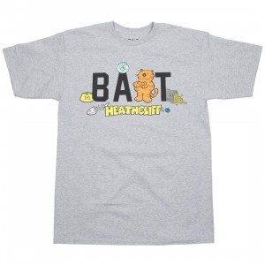 BAIT x Heathcliff Men Logo Tee (gray / heather)