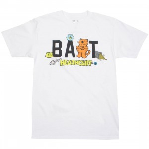 BAIT x Heathcliff Men Logo Tee (white)