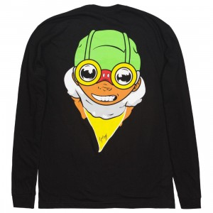 BAIT x Hebru Brantley Men Fly Boy Long Sleeve Tee (black)