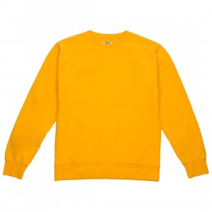 BAIT Men Premium Core Crew Neck (yellow / gold)