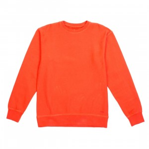 BAIT Men Premium Blank Crew Neck (orange / orange com)