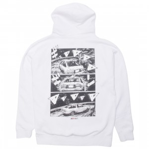 BAIT x Initial D Men How To Drift Hoody (white)