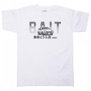BAIT x Initial D Men BAIT Logo Design Tee (white)