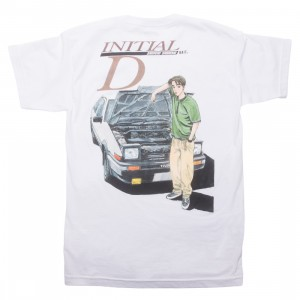 BAIT x Initial D Men Initial D Color Tee (white)