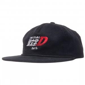 BAIT x Initial D Racing Corduroy Snapback Cap (black)