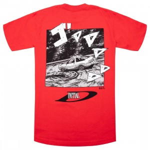 BAIT x Initial D Men Drift Design Tee (red)