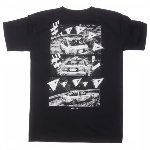 BAIT x Initial D Men How To Drift Tee (black)