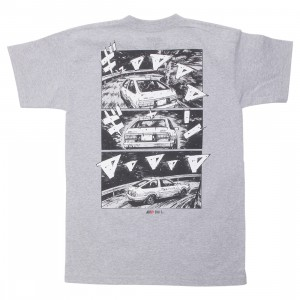 BAIT x Initial D Men How To Drift Tee (gray / silver)