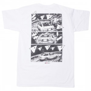 BAIT x Initial D Men How To Drift Tee (white)