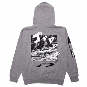 BAIT x Initial D Men Drift Design Hoody (gray)